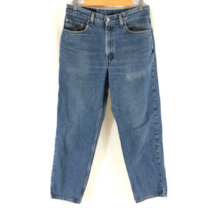 Levis Mens Jeans 550 Relaxed Fit Medium Wash 34x30